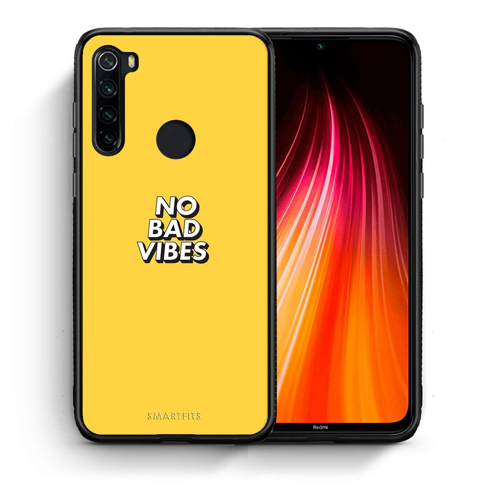 4 - Xiaomi Redmi Note 8 Vibes Text case, cover, bumper