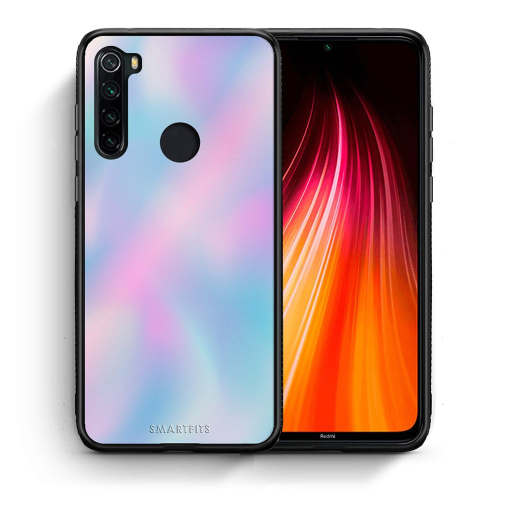 99 - Xiaomi Redmi Note 8 Watercolor Rainbow case, cover, bumper