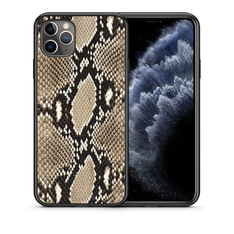 23 - iPhone 11 Pro  Fashion Snake Animal case, cover, bumper