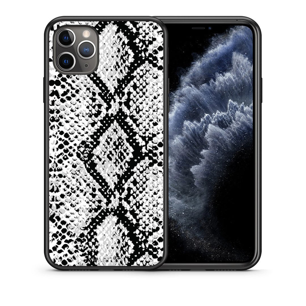 24 - iPhone 11 Pro Max  White Snake Animal case, cover, bumper