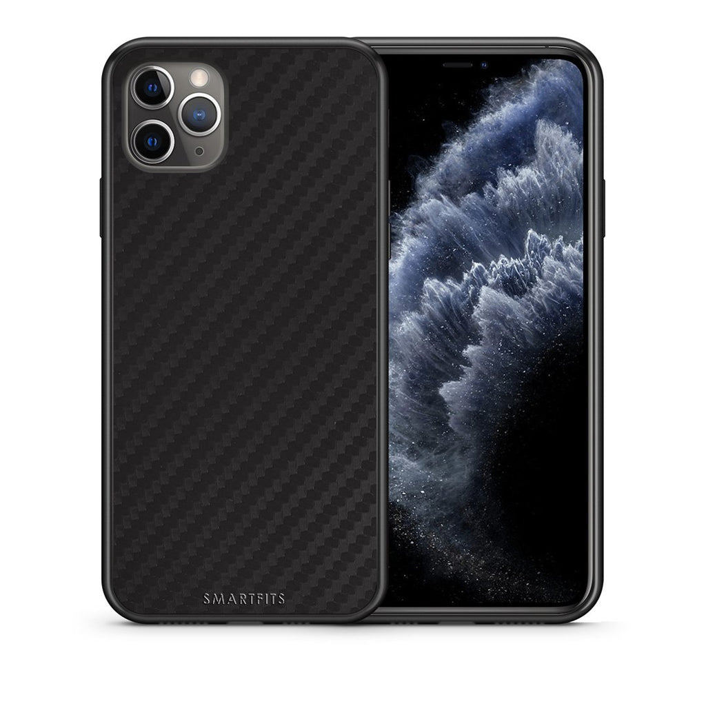 0 - iPhone 11 Pro Max  Black Carbon case, cover, bumper