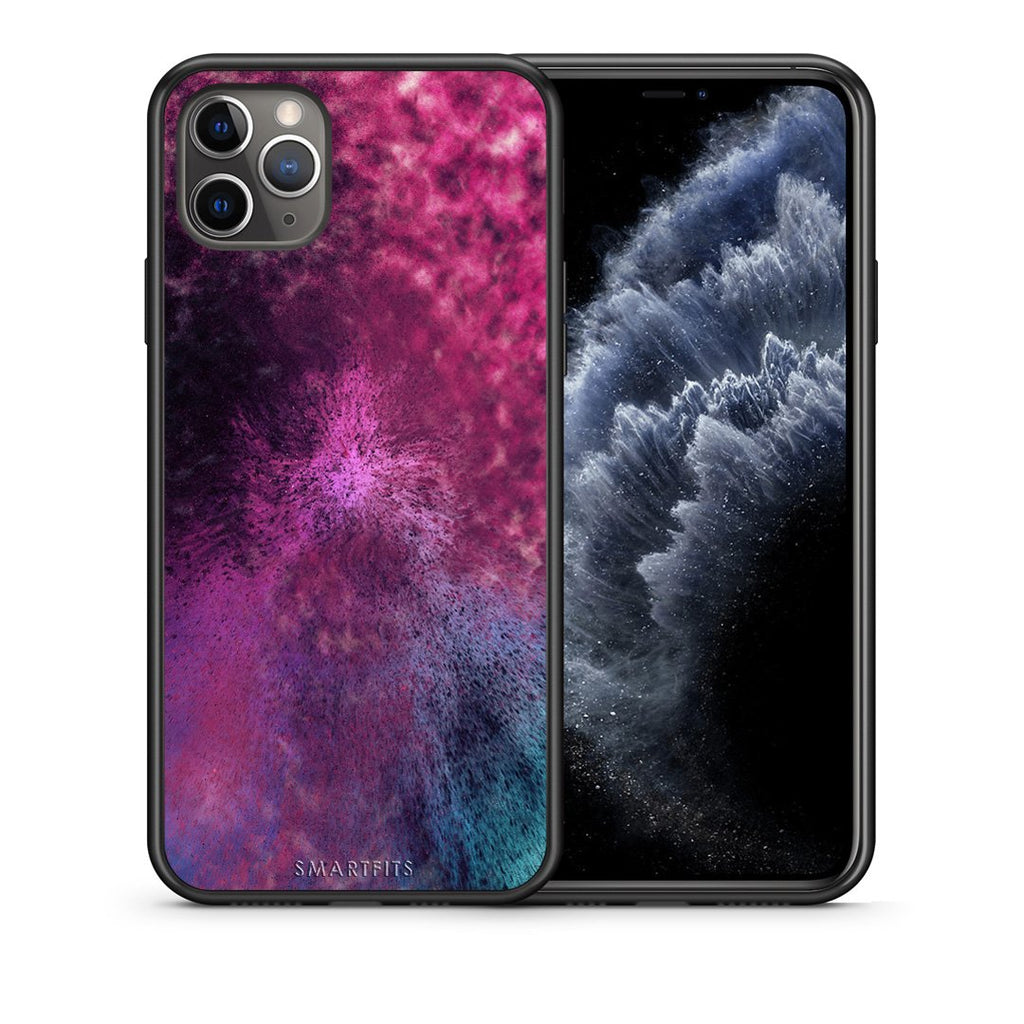 52 - iPhone 11 Pro Max  Aurora Galaxy case, cover, bumper