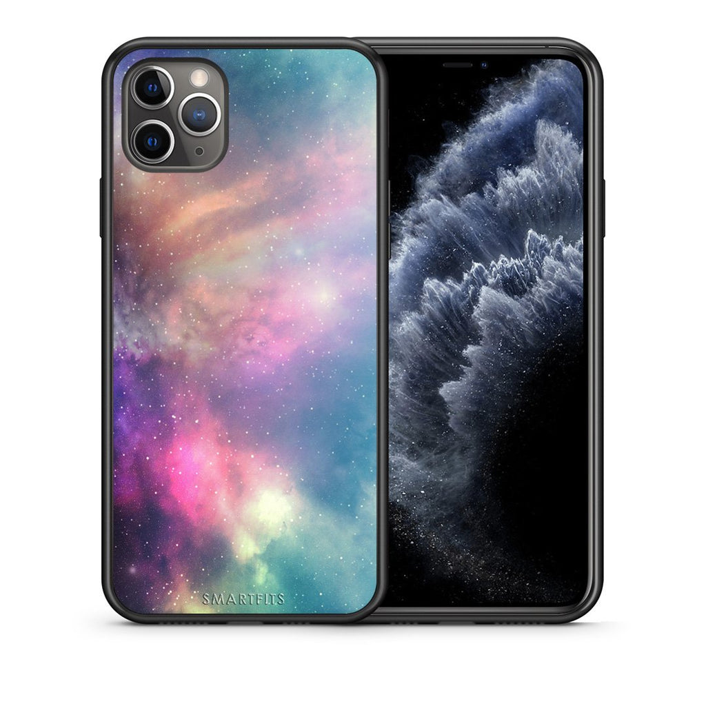 105 - iPhone 11 Pro Max  Rainbow Galaxy case, cover, bumper