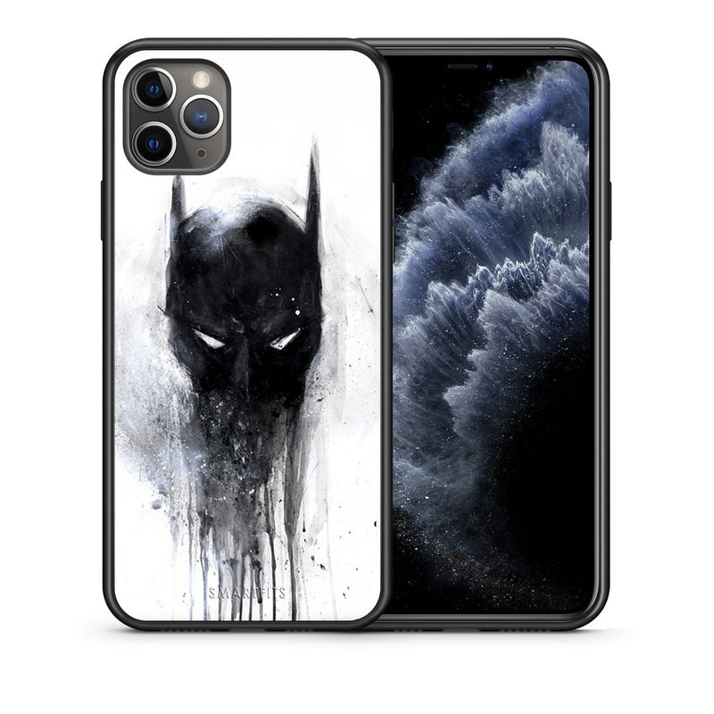 4 - iPhone 11 Pro Paint Bat Hero case, cover, bumper