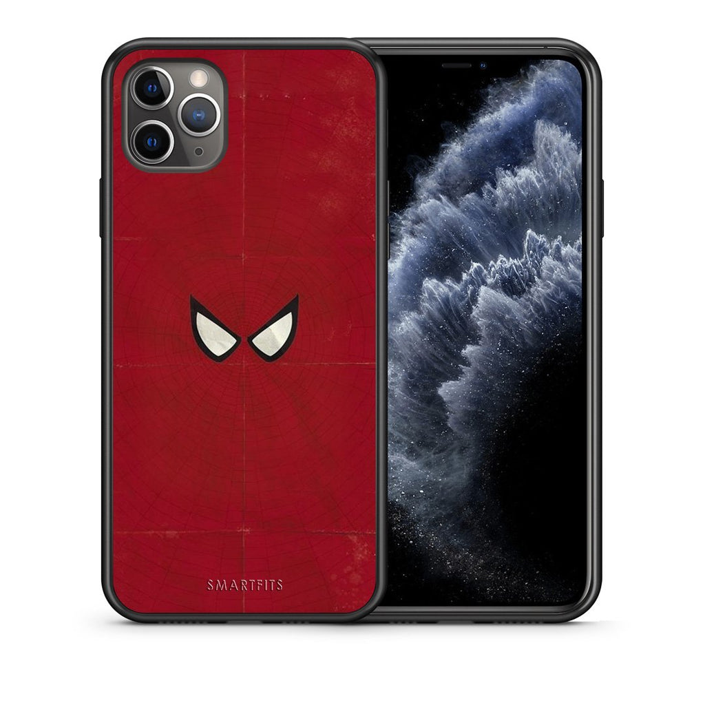 4 - iPhone 11 Pro Max Spider Eyes Hero case, cover, bumper