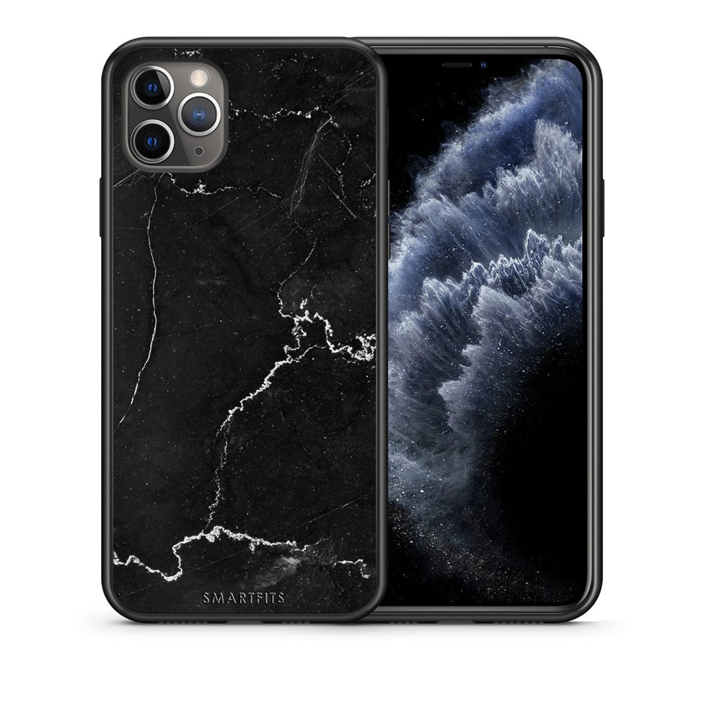 1 - iPhone 11 Pro Max  black marble case, cover, bumper