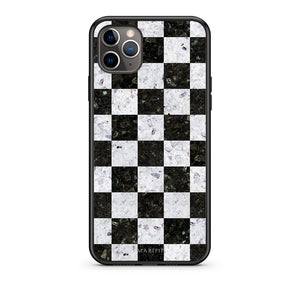 4 - iPhone 11 Pro Square Geometric Marble case, cover, bumper