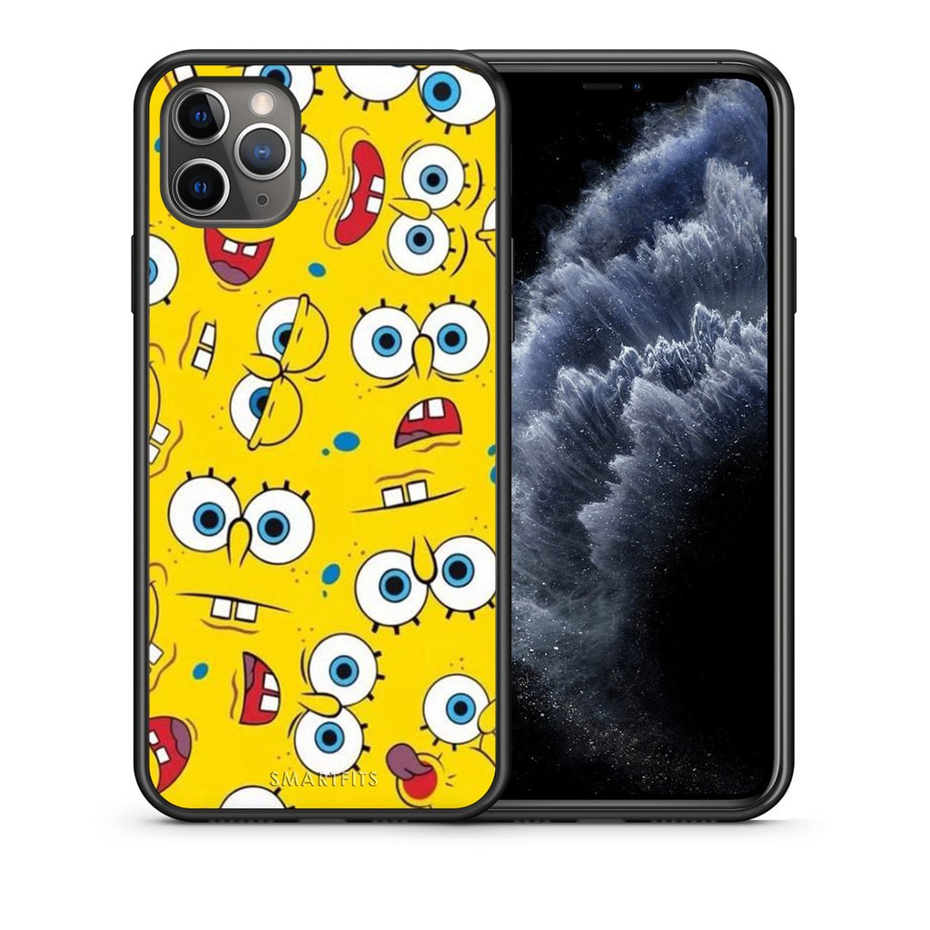 4 - iPhone 11 Pro Max Sponge PopArt case, cover, bumper