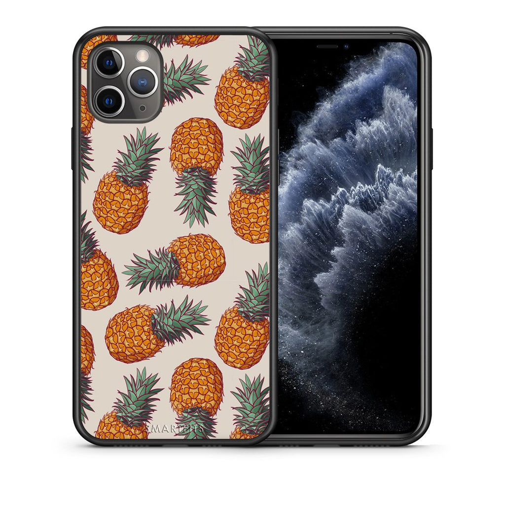 99 - iPhone 11 Pro Max  Summer Real Pineapples case, cover, bumper