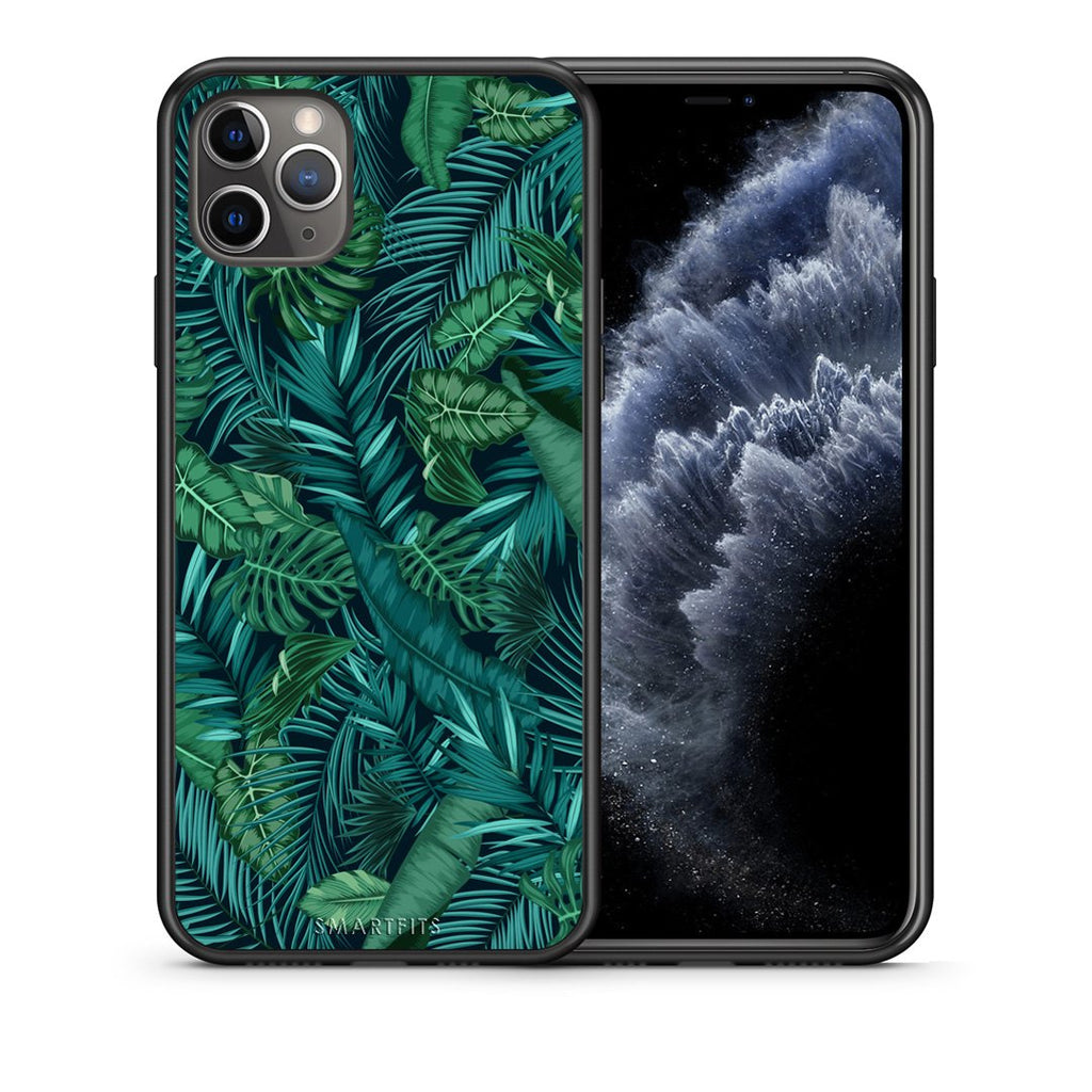99 - iPhone 11 Pro Max  Tropic Leaves case, cover, bumper