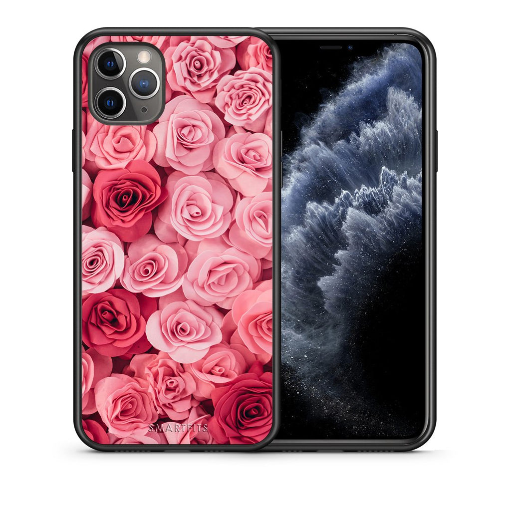 4 - iPhone 11 Pro Max RoseGarden Valentine case, cover, bumper