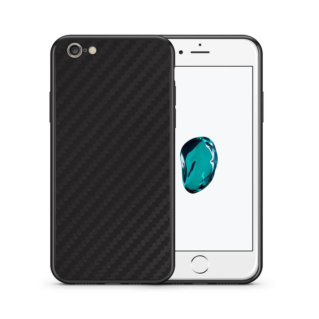 0 - iPhone 7/8 Black Carbon case, cover, bumper
