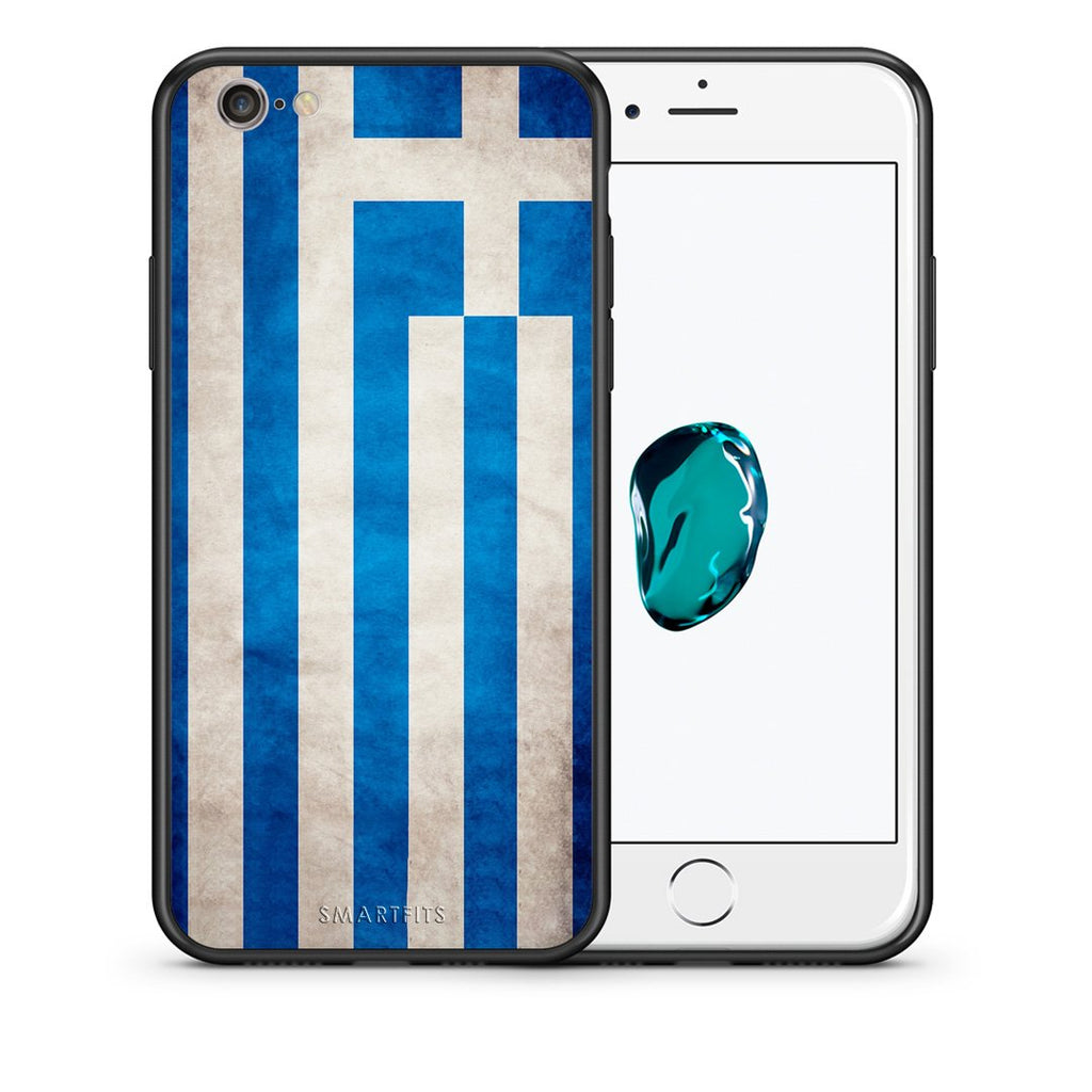 4 - iphone 6 6s Greece Flag case, cover, bumper