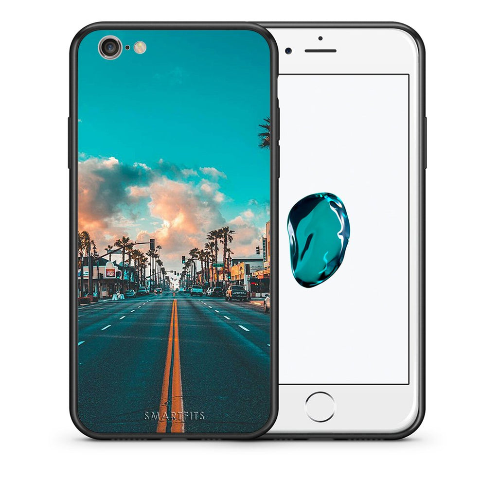 4 - iPhone 7/8 City Landscape case, cover, bumper