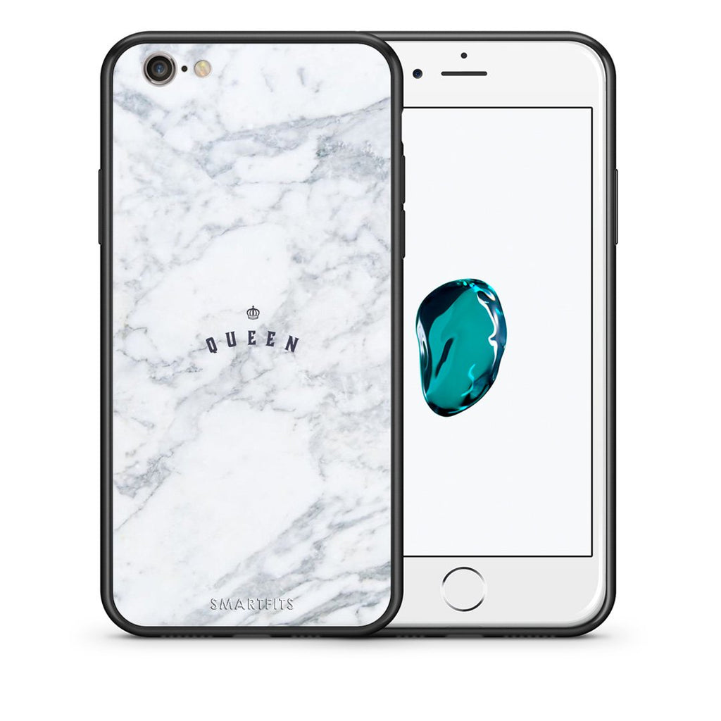 4 - iphone 6 6s Queen Marble case, cover, bumper