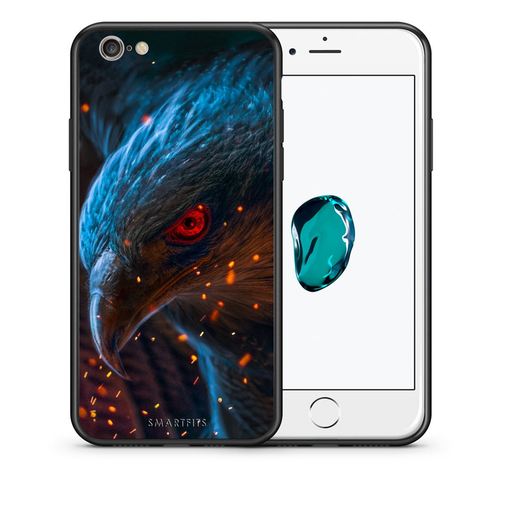 4 - iphone 6 6s Eagle PopArt case, cover, bumper