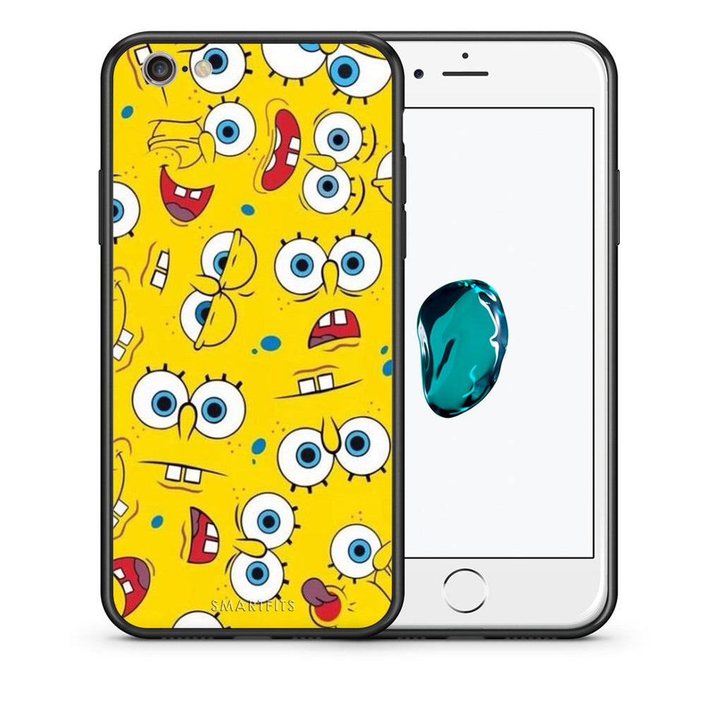 4 - iPhone 7/8 Sponge PopArt case, cover, bumper