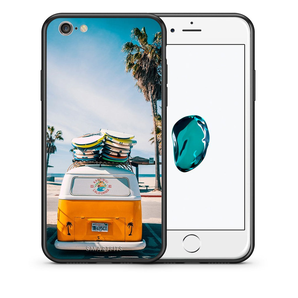 4 - iPhone 7/8 Travel Summer case, cover, bumper