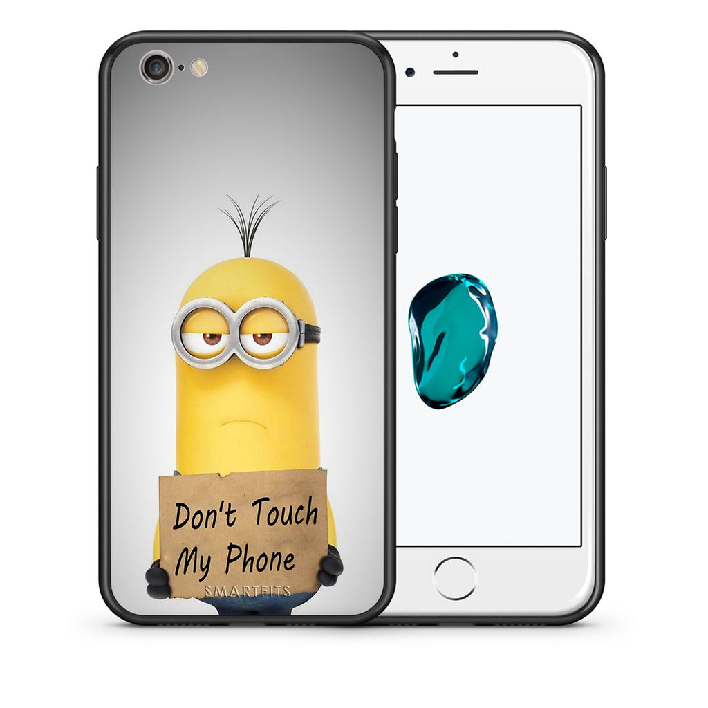 4 - iPhone 7/8 Minion Text case, cover, bumper