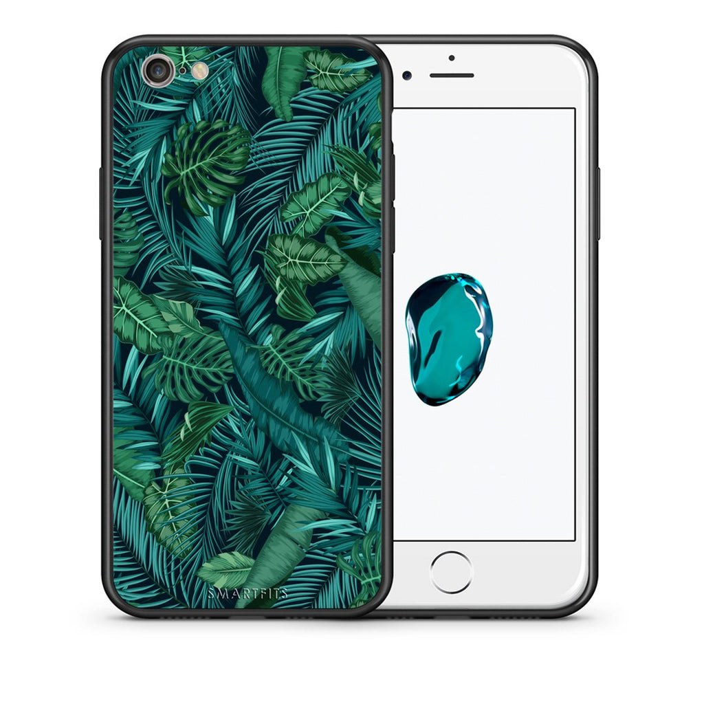 99 - iPhone 7/8 Tropic Leaves case, cover, bumper