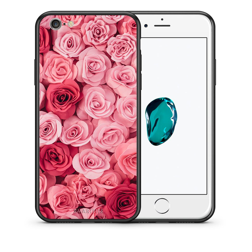 4 - iPhone 7/8 RoseGarden Valentine case, cover, bumper