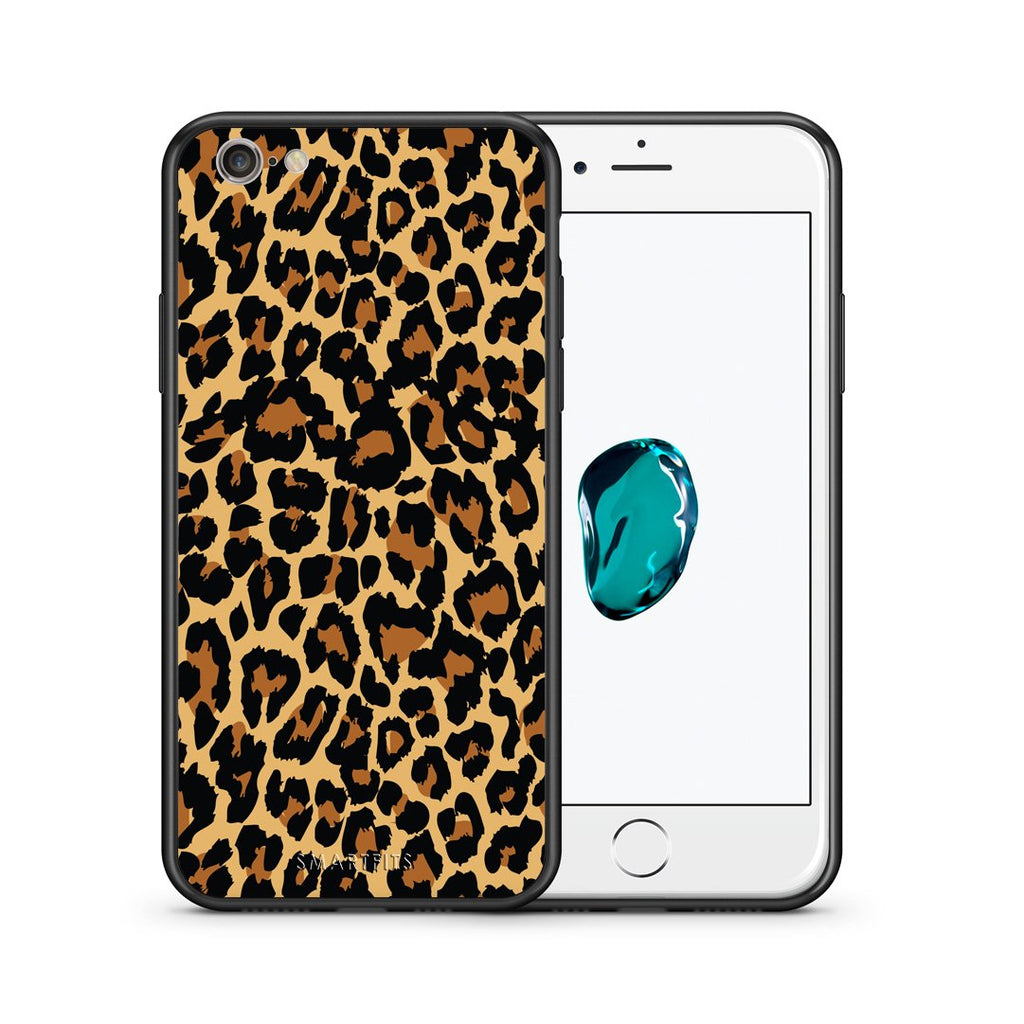 21 - iphone 6 6s Leopard Animal case, cover, bumper