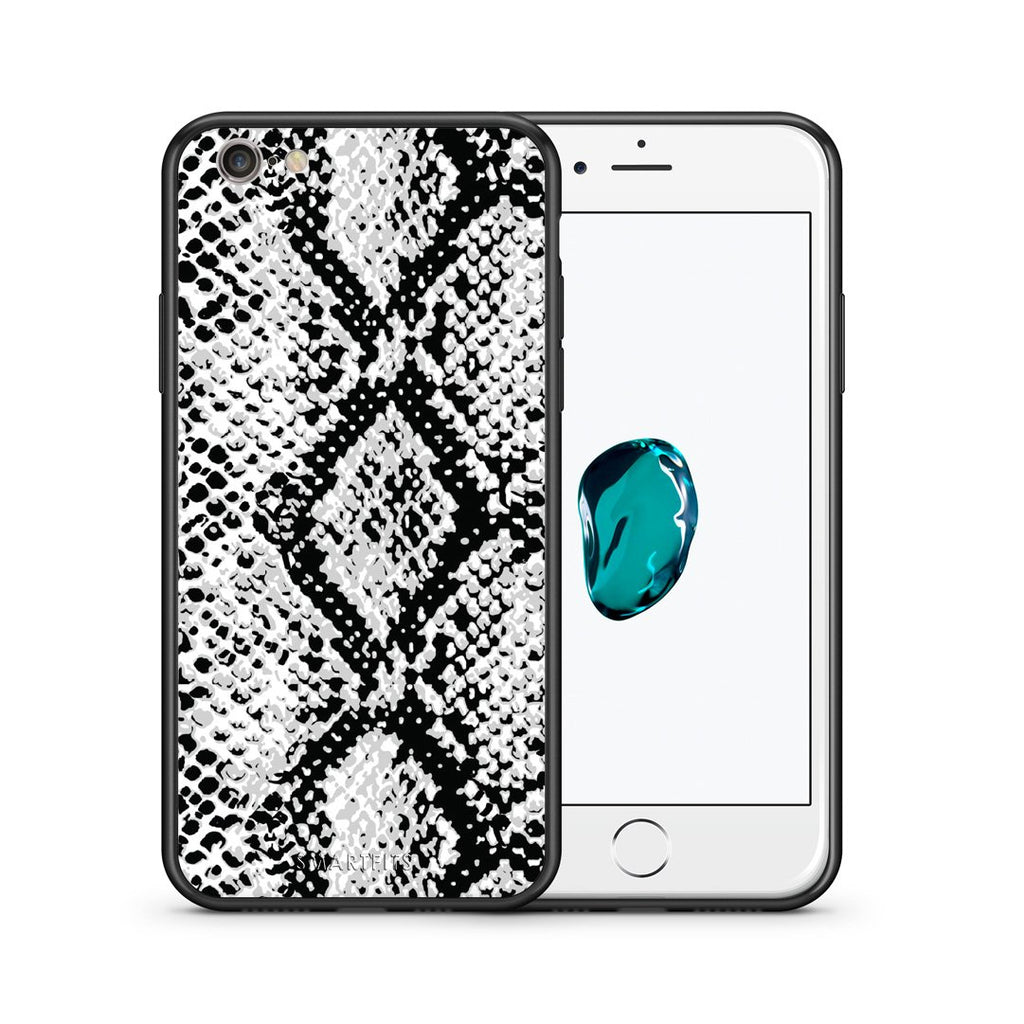 24 - iphone 6 6s White Snake Animal case, cover, bumper