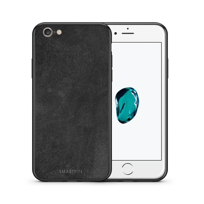 87 - iphone 6 plus 6s plus Black Slate Color case, cover, bumper