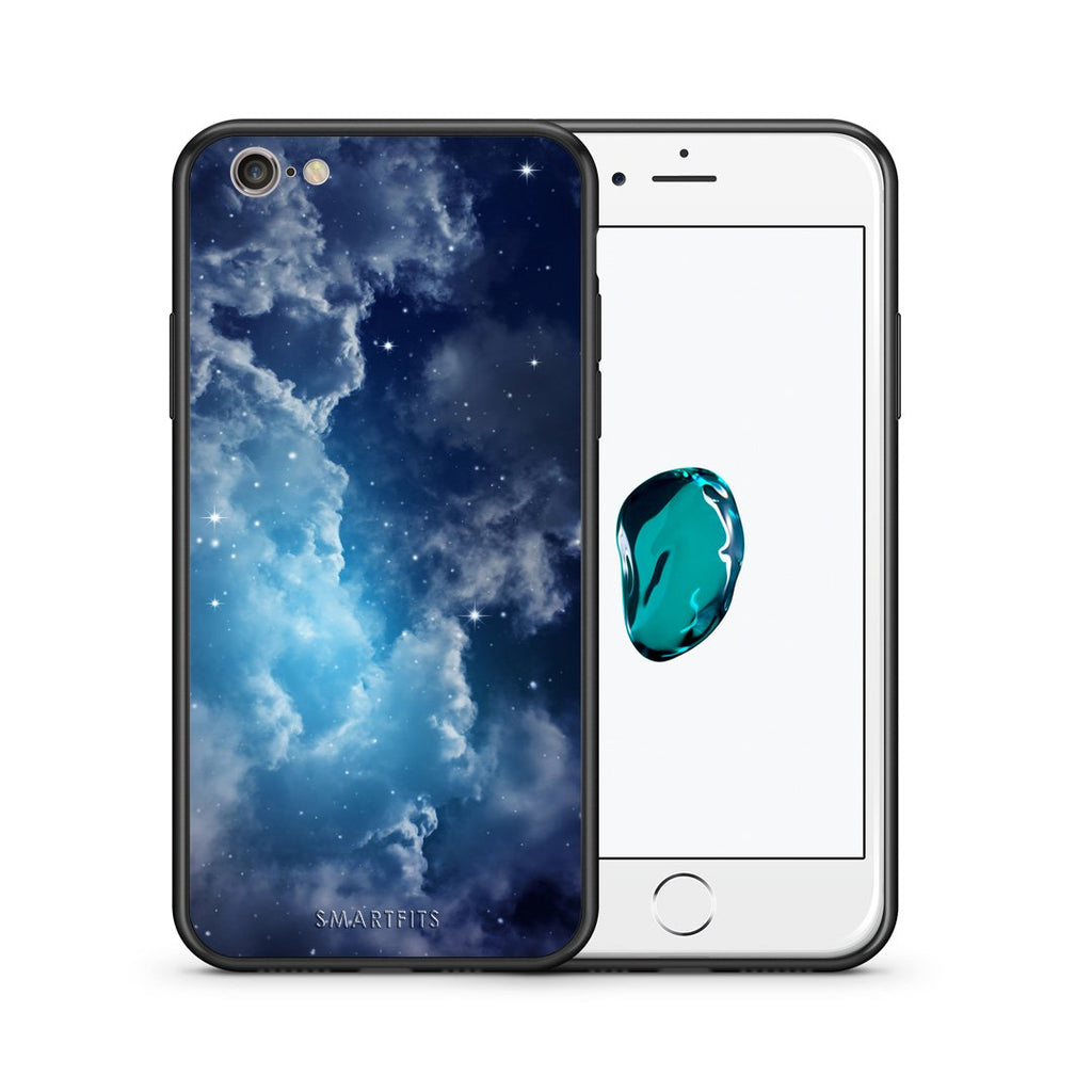 104 - iPhone 7/8 Blue Sky Galaxy case, cover, bumper