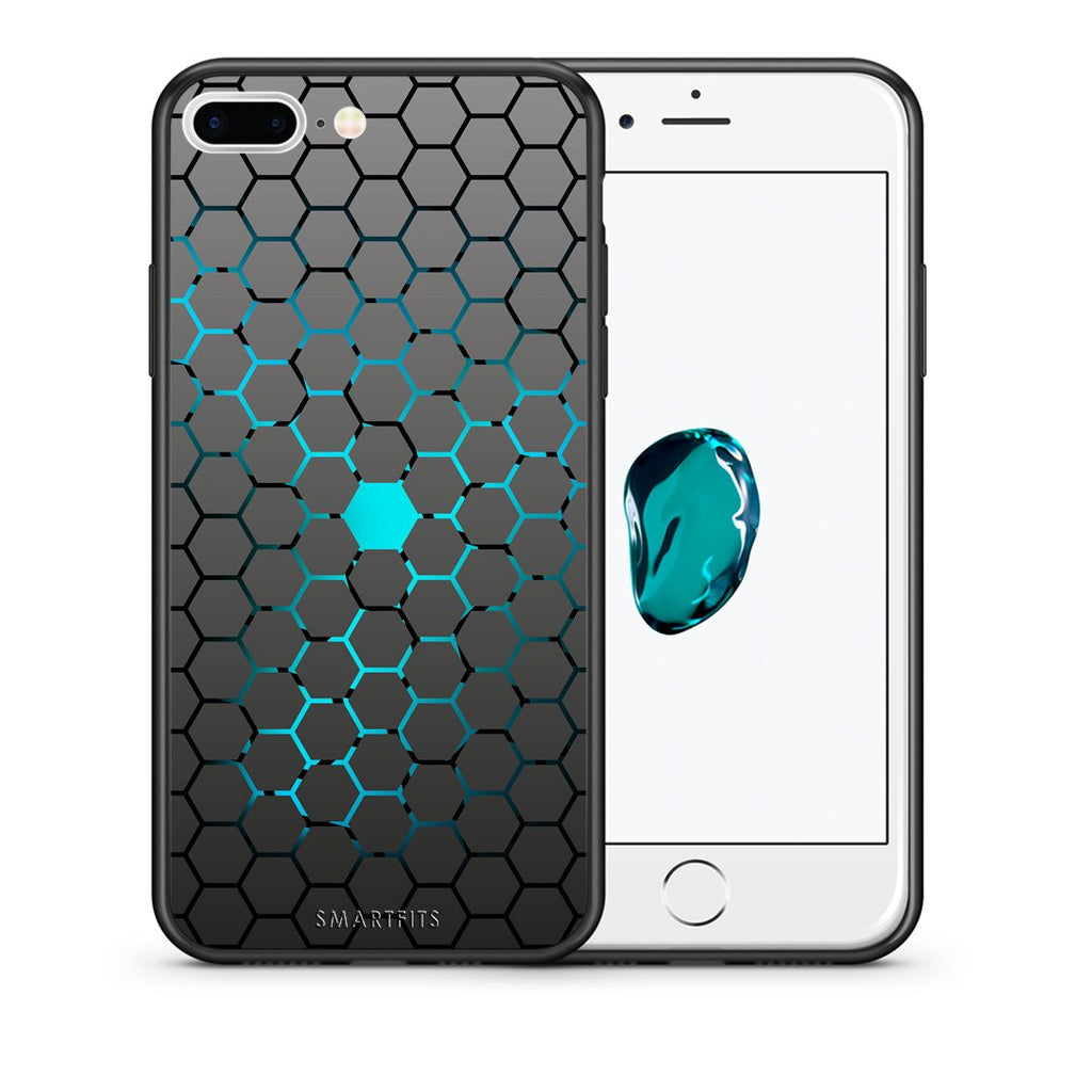 40 - iPhone 7 Plus/8 Plus Hexagonal Geometric case, cover, bumper