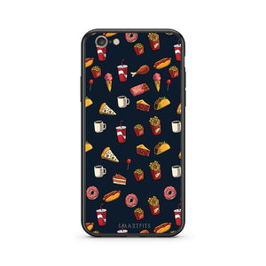 118 - iphone 6 6s Hungry Random case, cover, bumper
