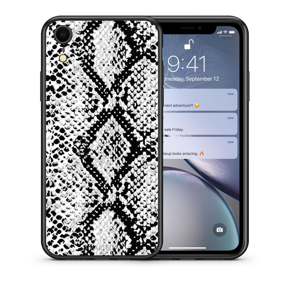 24 - iphone xr White Snake Animal case, cover, bumper