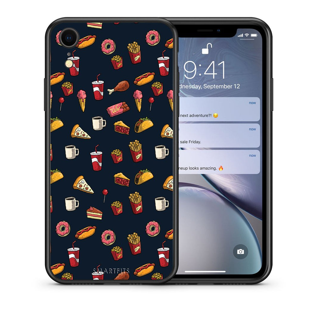 118 - iphone xr Hungry Random case, cover, bumper