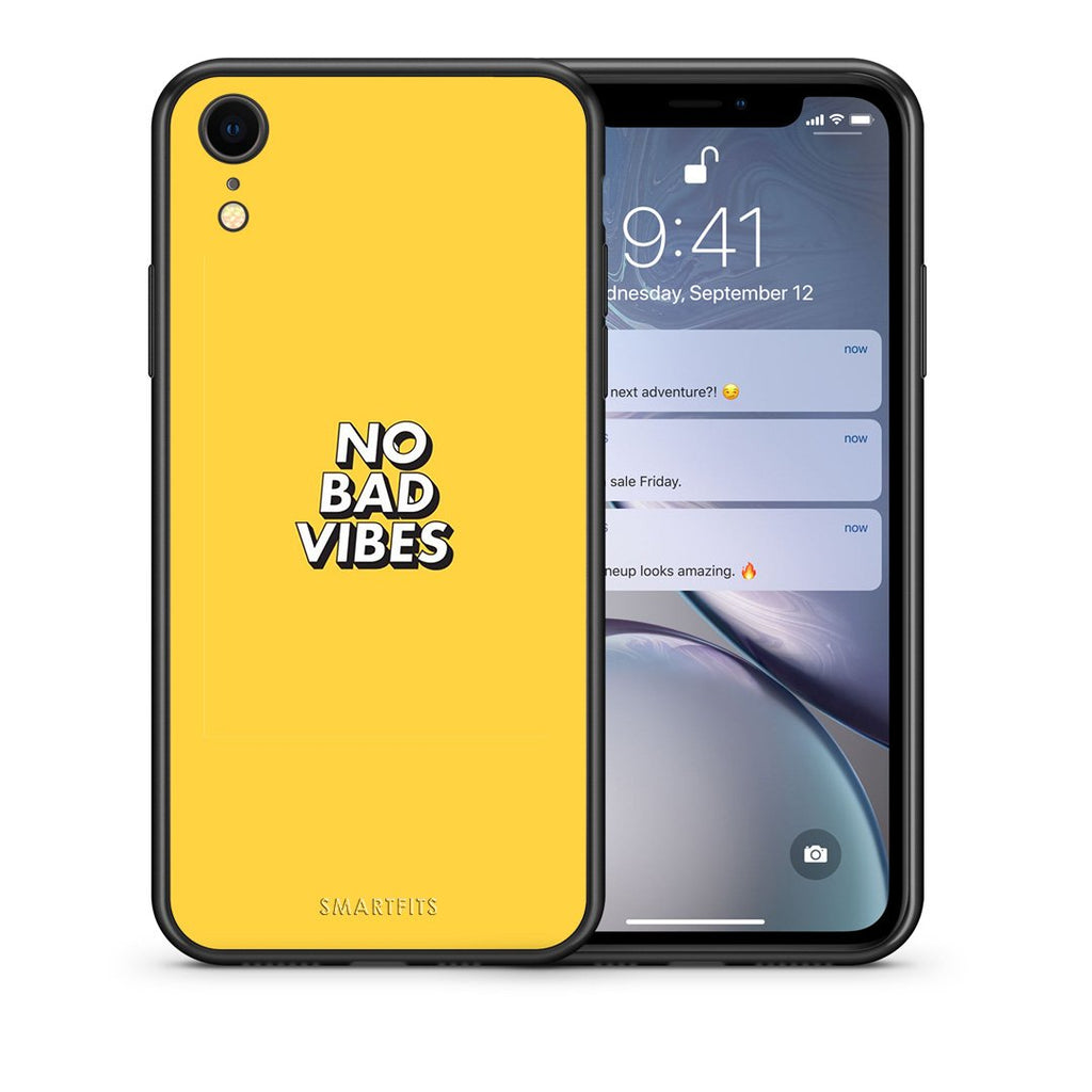 4 - iphone xr Vibes Text case, cover, bumper
