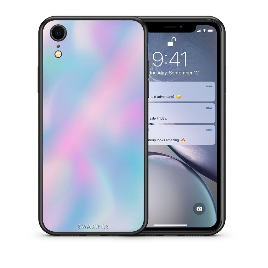 99 - iphone xr Watercolor Rainbow case, cover, bumper