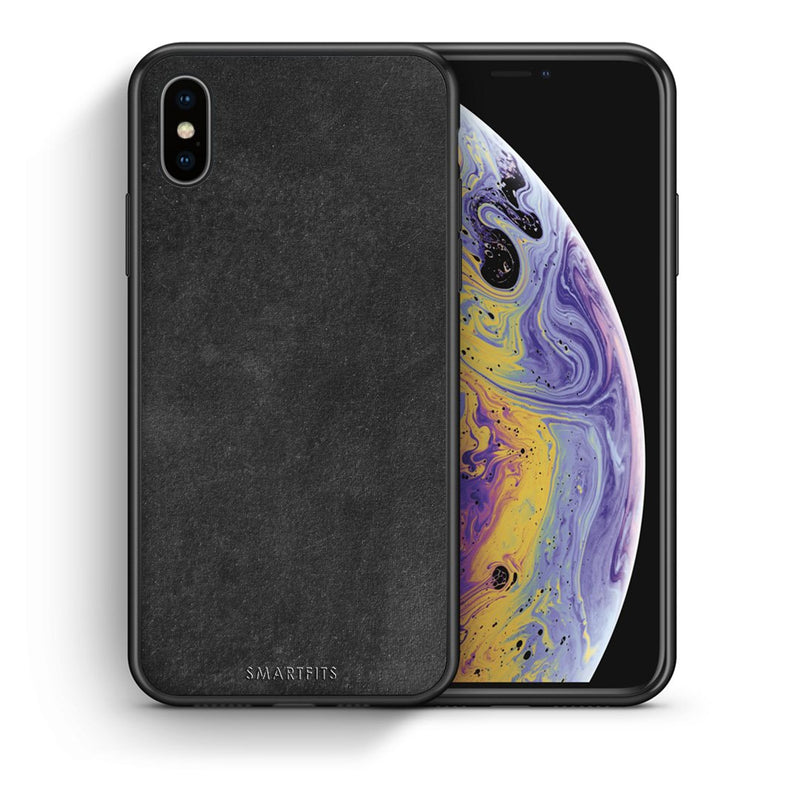Θήκη iPhone Xs Max Black Slate Color από τη Smartfits με σχέδιο στο πίσω μέρος και μαύρο περίβλημα | iPhone Xs Max Black Slate Color case with colorful back and black bezels