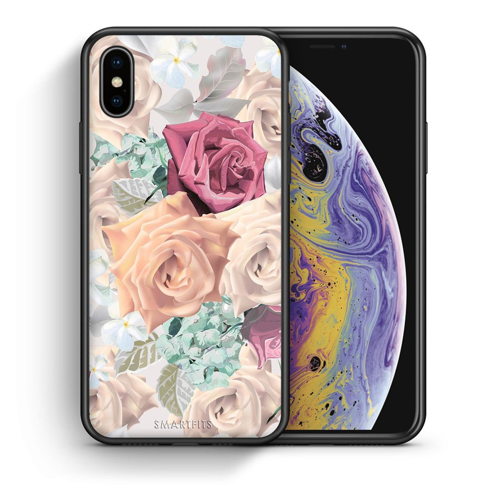 99 - iPhone X/Xs Bouquet Floral case, cover, bumper