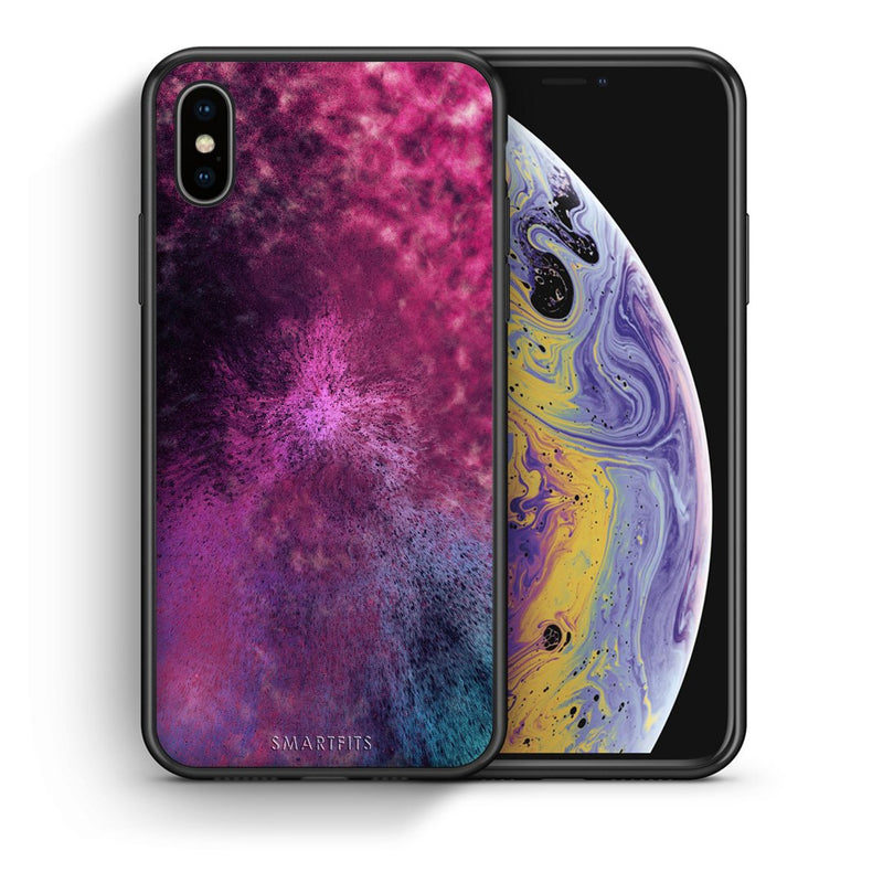 52 - iPhone X/Xs Aurora Galaxy case, cover, bumper