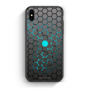 40 - iPhone X/Xs Hexagonal Geometric case, cover, bumper
