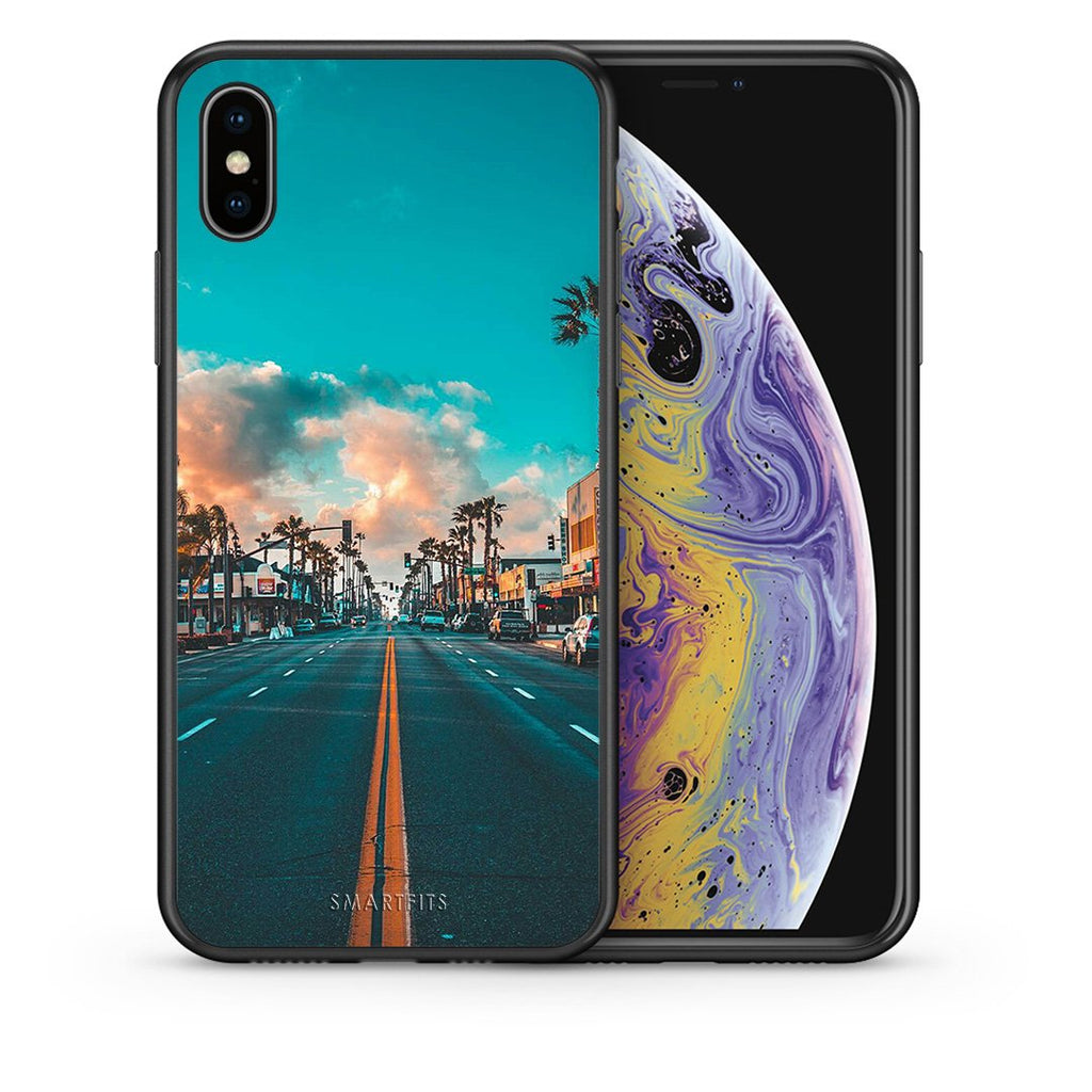 4 - iPhone X/Xs City Landscape case, cover, bumper