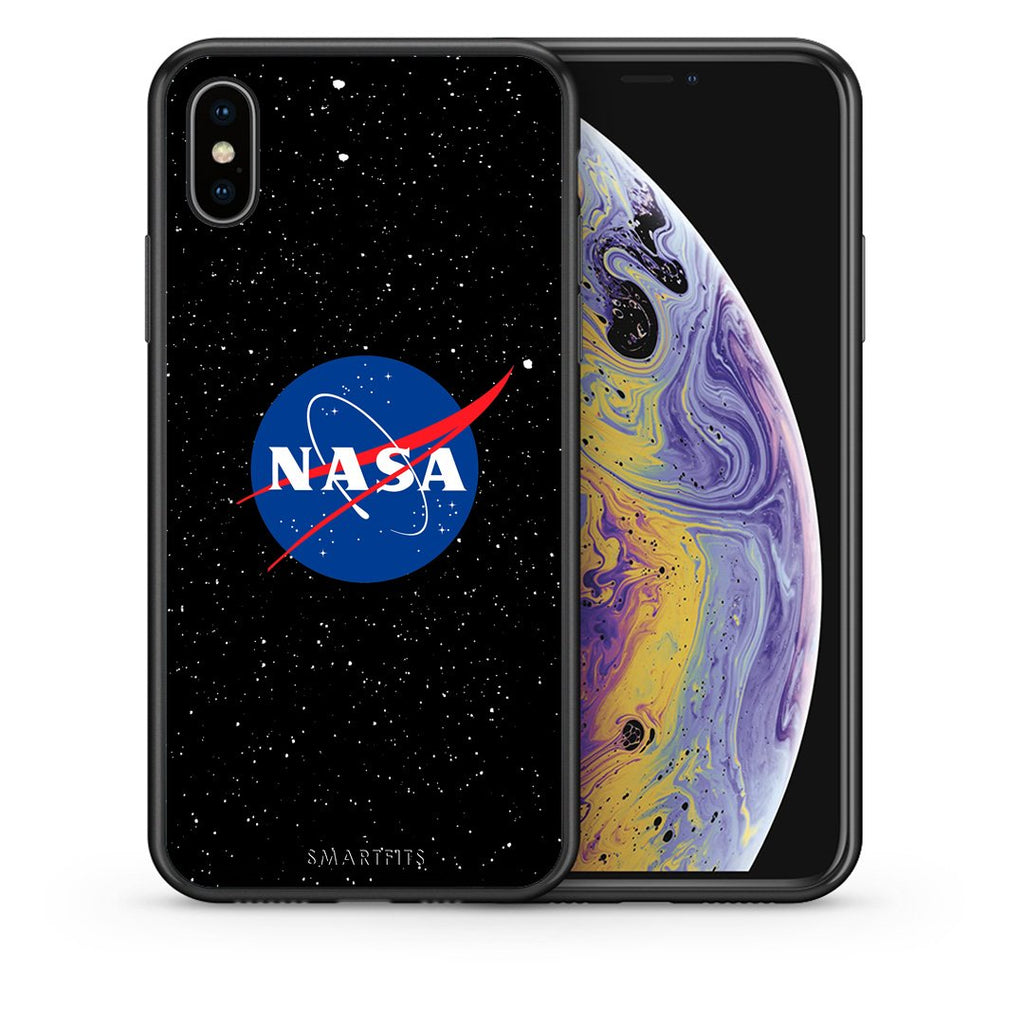 4 - iPhone X/Xs NASA PopArt case, cover, bumper