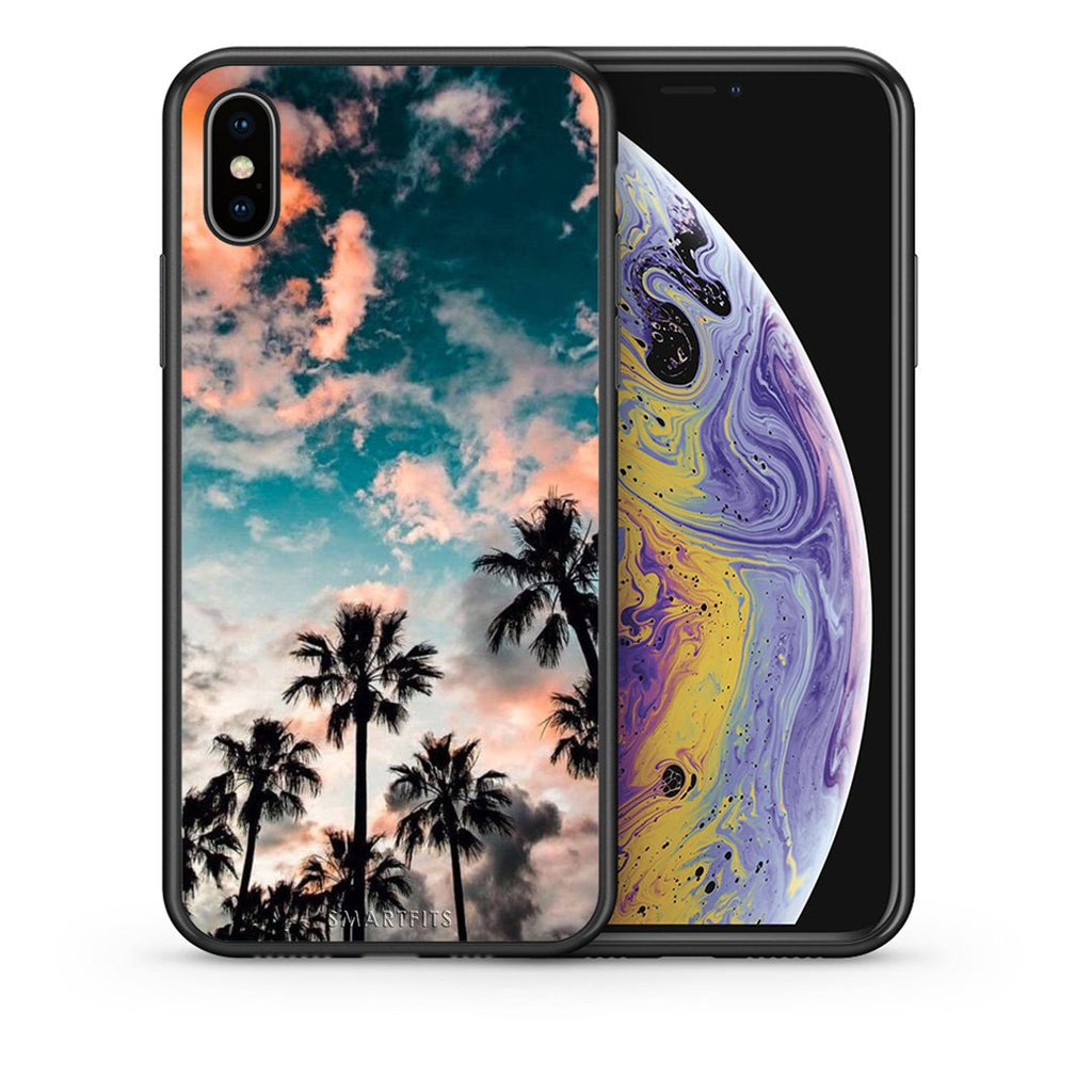 99 - iPhone X/Xs Summer Sky case, cover, bumper
