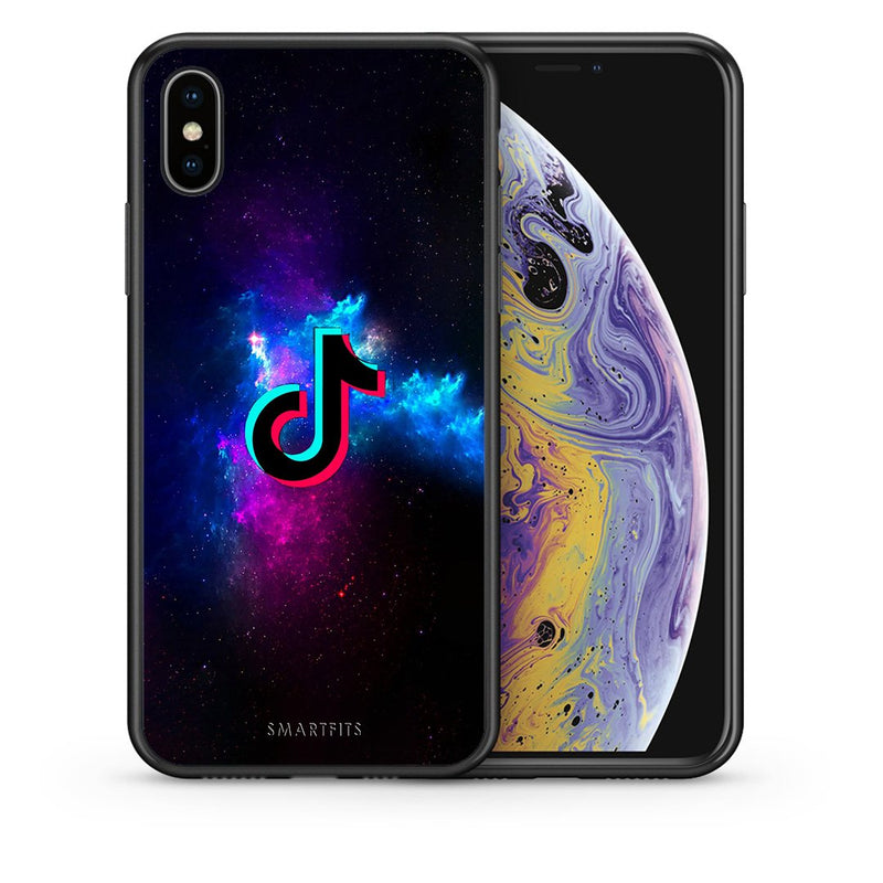 4 - iphone xs max TikTok Text case, cover, bumper