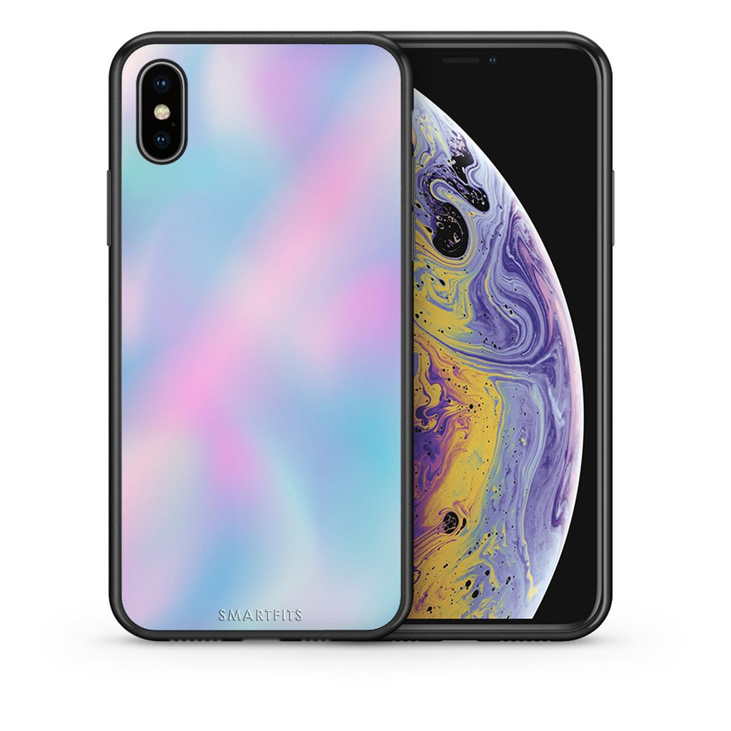99 - iPhone X/Xs Watercolor Rainbow case, cover, bumper