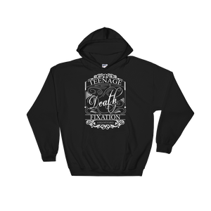 TEENAGE DEATH FIXATION OLD ENGLISH HOODIE