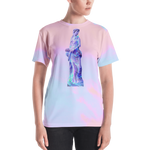 EVANESCENCE ALL-OVER CUT & SEW T-SHIRT FOR WOMEN, , Death Designer