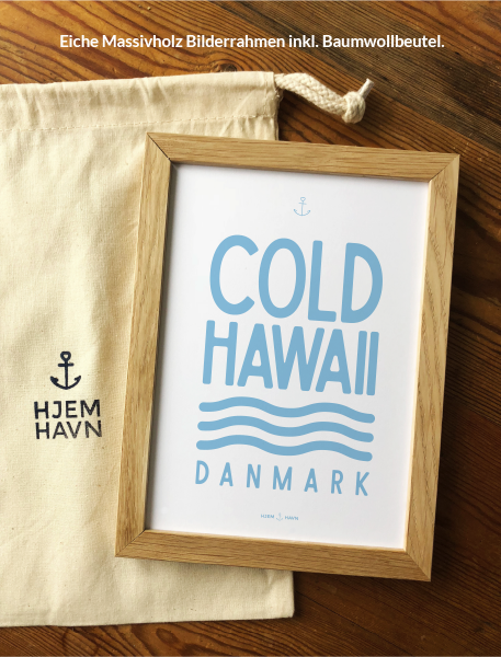 Poster - Cold Hawaii