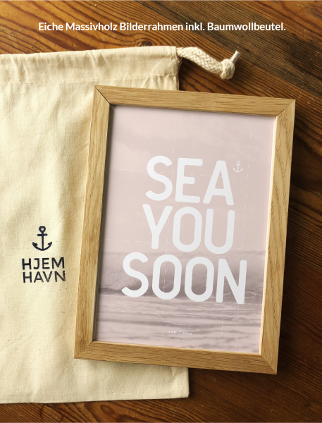"Poster - ""Sea You Soon"" No.1"