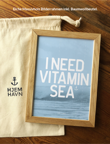 "Poster - ""I Need Vitamin Sea"" No.1"