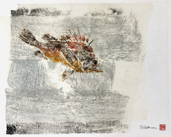 Paula Nishikawara - Rockfish in the storm